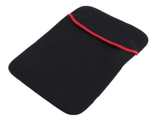 Funda Neopreno Tableta 10.1 Pulg Reversible Negro /rojo