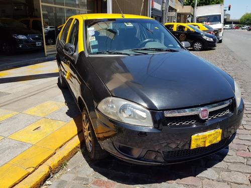 Taxi Fiat Siena El 2014 Con Licencia Y Gnc