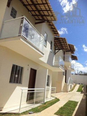Casa Com 2 Dormitórios À Venda, 88 M² Por R$ 180.000 - Novo Horizonte - Macaé/rj - Ca0094