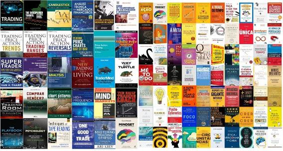 100 Livros Mercado Financeiro Day Trade + Alta Performance