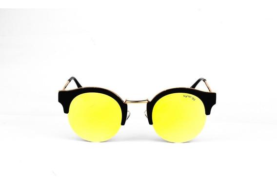 Lentes De Sol Synergy Negro/amarillo 5073