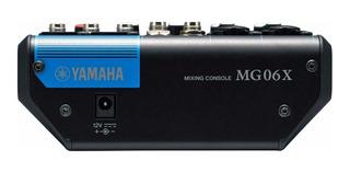 Yamaha Mg06x Mixer Con Efectos 6 Canales Nuevo Gtia Cuotas