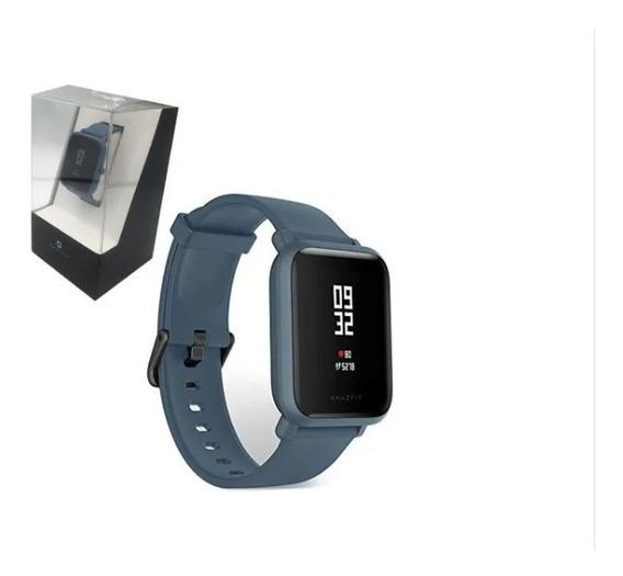 Relógio Inteligente Medidor Frequência Cardíaco Xiaomi Azul