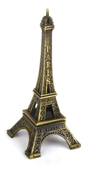 Torre Eiffel 32 Cm Metal Paris Francia Centro Mesa Souvenirs