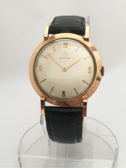 Relógio Omega Ouro 18k Maciço À Corda Elegante E Impecável - 13 Anos No Mercado Livre