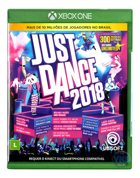 Just Dance 2018 - Xbox One - Mídia Física - Novo - Lacrado