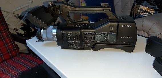 Sony Nex Ea50 Com Lente 18-55 Usada 5 Vezes