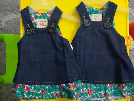 Bstitas De Mezclilla Para Bebés Y Niñas. Vestidos.