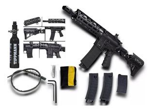 Tmc Elite Gotcha Tippmann Airthrough Paintball Rifle Magfed