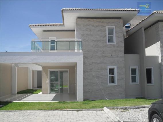 Sobrado Residencial À Venda, Alagadiço Novo, Fortaleza. - Codigo: Ca0154 - Ca0154