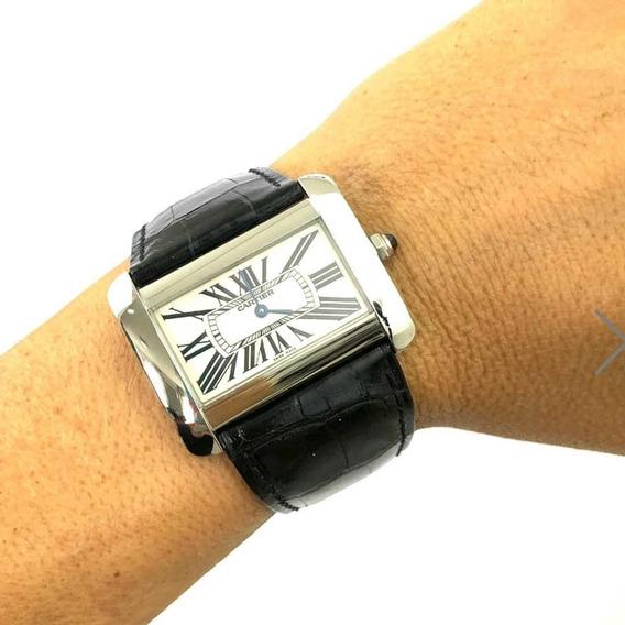 Relógio Cartier Divã
