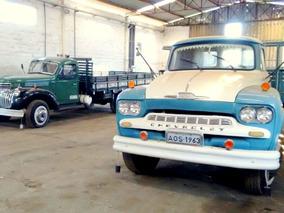Chevrolet Brasil 1961 E Chevrolet Gigante 1942
