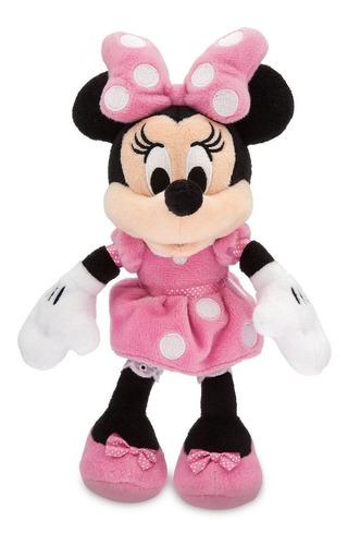 Peluche Minnie Mouse Rosa Original Disney Store U S A 24 Cm