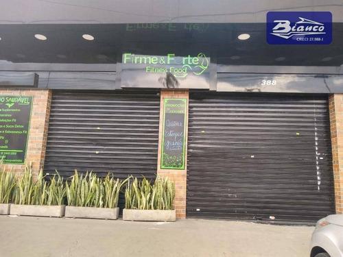 Imagem 1 de 16 de Salão Na Av. Paulo Faccini Para Alugar, 82 M² Por R$ 6.000/mês - Centro - Guarulhos/sp - Sl0147