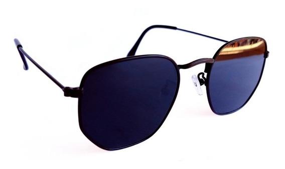 Óculos De Sol Feminino Hexagonal Lançamento Verão 2019 Uv400
