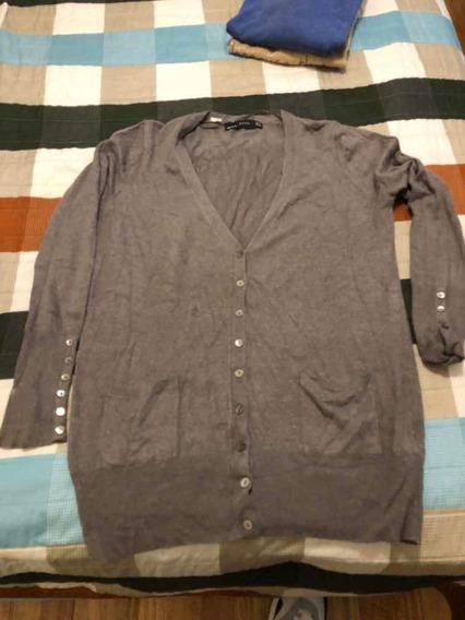 Sweater Dama Zara Talle L Leer Detalle