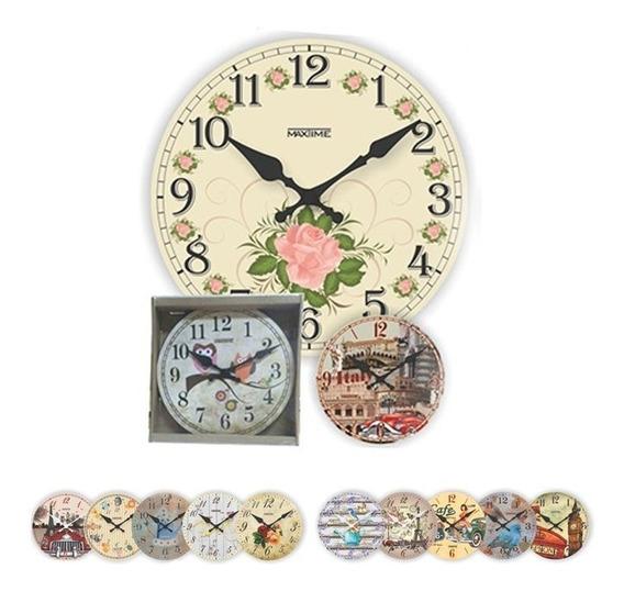 Relógio De Parede Campestre