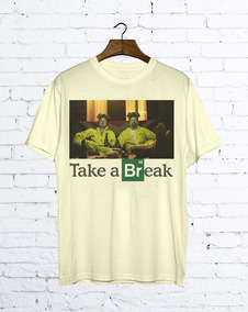 Camiseta Breaking Bad Cerveja Heisenberg Pinkman Séries