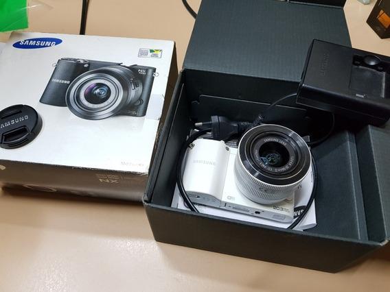 Câmera De Qualidade Profissional Samsung Nx1000