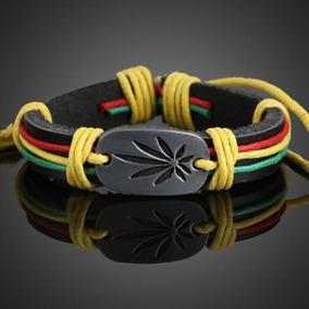 Pulseira Reggae Cannabis - Promoção Barato Frete Grátis