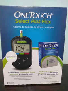 Aparelho Medidor De Glicose Onetouch Select Plus Flex