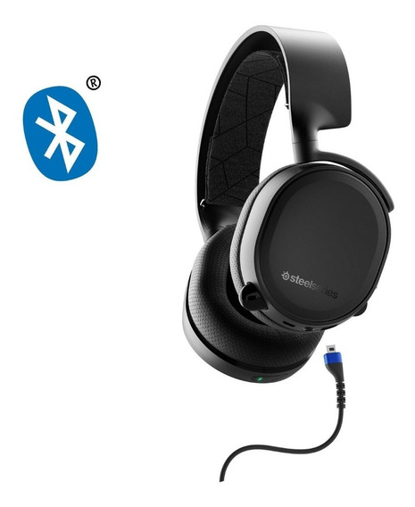 Headset Steelseries Arctis 3 Stl-61509 2019 Bluetooth Preto