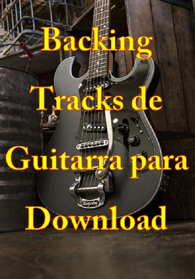 900 Backing Tracks De Guitarra 4.5 Gb De Arquivos + Brinde