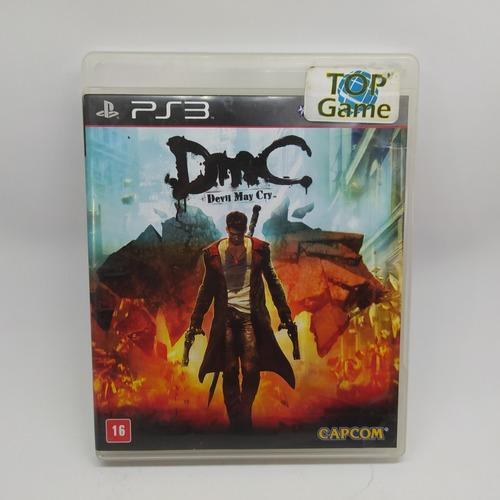 Devil My Cry Dmc Ps3 Mídia Física Usado Físico Original