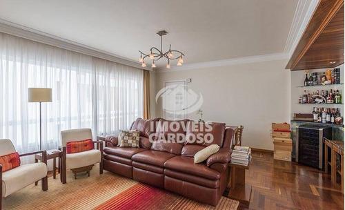 Imagem 1 de 13 de Apartamento Com 3 Dormitórios À Venda, 108 M² Por R$ 1.250.000 - Higienópolis - São Paulo/sp - Ap0638