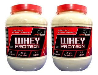 2 Proteina Orofino Whey 2kg (60 Serv) 100% Calidad