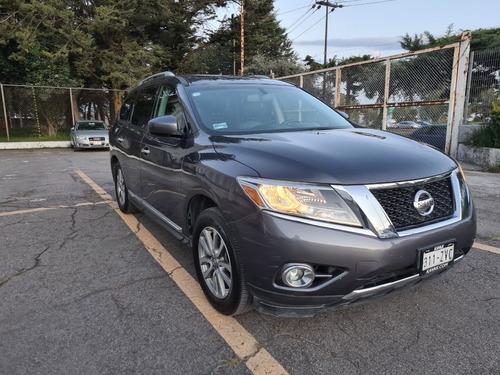 Imagen 1 de 15 de Nissan Pathfinder Advance 2014 7 Pas Piel Qc Panoramico