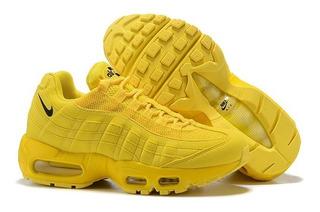 zapatillas amarillas hombre nike