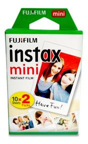 Fujifilm Instax Mini Filme Branco 20 Sheets Para Fuji Instan