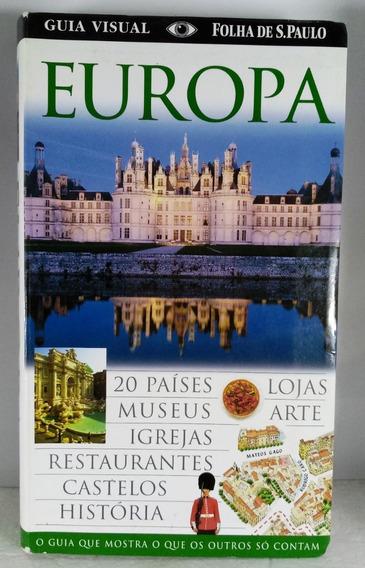 Europa Guia Visual Folha São Paulo Turismo Viagem Museus