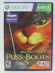 Gato De Botas Puss In Boots Game Xbox 360 Completo Original