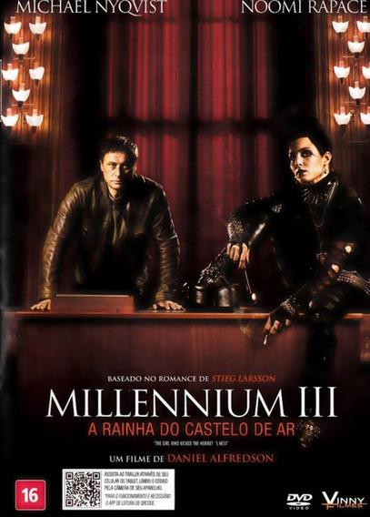 Dvd Millennium 3 A Rainha Do Castelo De Ar