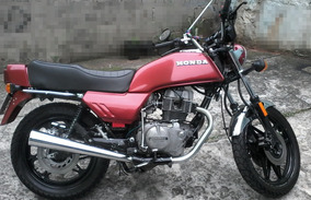Honda Cb400 Vermelha