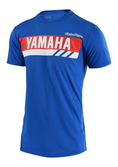 Remera Yamaha Rs1 Troy Lee Desings Azul 2019 Marelli Sports