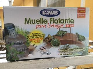 Muelle Flotante Para Tortuga