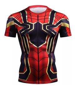Playera De Iron Spider, Marvel Avengers ( Envió Gratis)