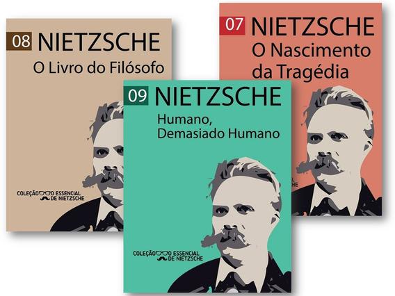 Kit Com 3 Livros - Nietzsche Pocket - Filosofia