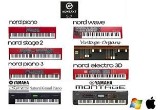 Nord Stage + Yamaha + Electro + Piano + Pad + Organ + Timbre