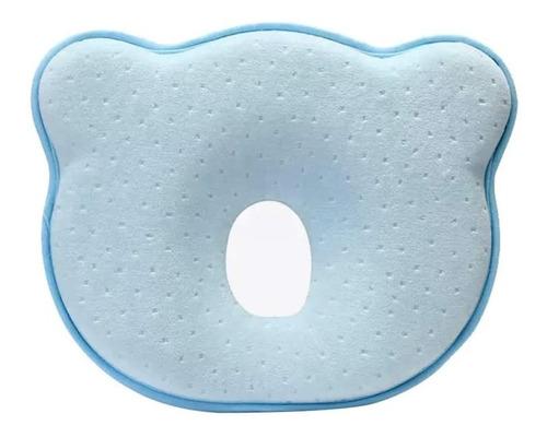 Imagen 1 de 8 de Almohada Bebe Memory Foam Almohada Prevenir Cabeza Plana