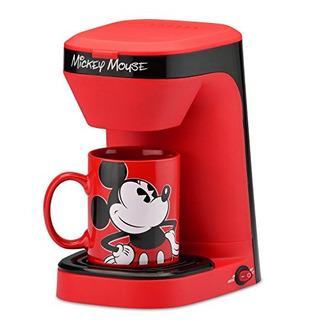 Cafetera De 1 Taza De Disney Mickey Mouse Con Taza Importada