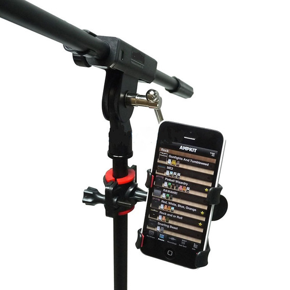 Kit 6 Suporte Celular P Pedestal Microfone Violã Cifra/letra