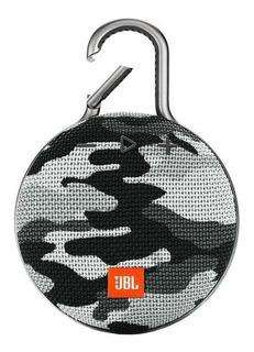 Alto-falante JBL Clip Clip 3 portátil sem fio White camouflage