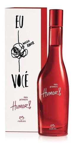 Perfume Humor Rojo Meu Primeiro 45% Off - Ana De Natura