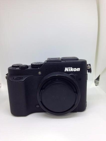 Promoção Nikon Seminova Coolpix P7800 Compacta Envio Rapido