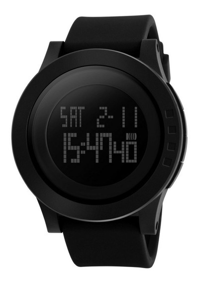 Relógio Masculino Digital Skmei 1142 Original Led + Caixinha