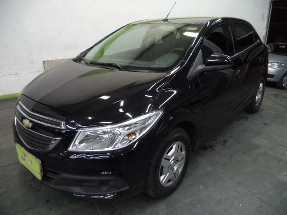 Chevrolet Onix Lt 1.0 8v Flex 5p Completo My Link2014 Preto